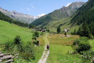Wandern in Kasern im Ahrntal